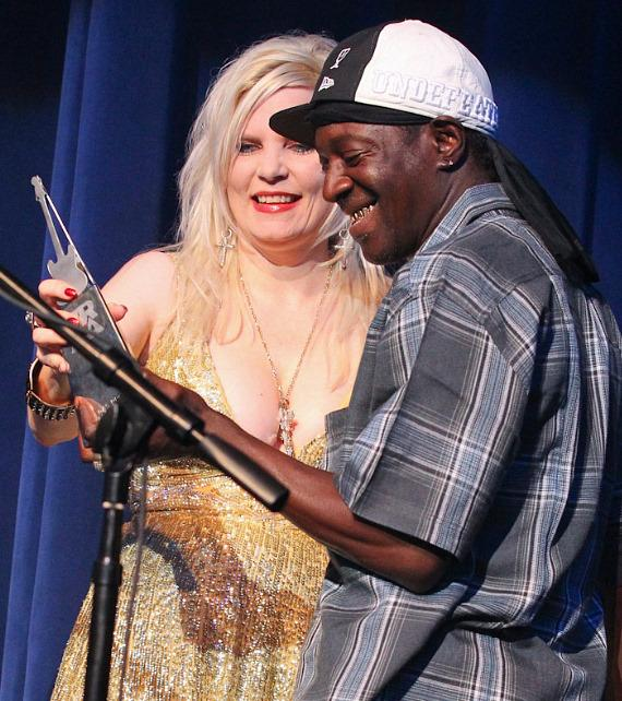Sally Stelle and Flavor Flav