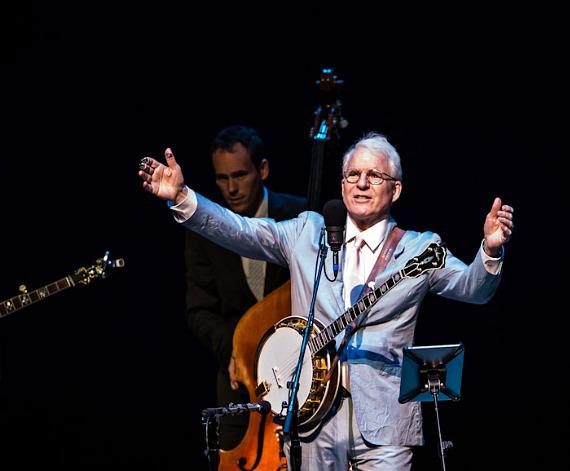 Steve Martin and the Steep Canyon Rangers perform at The Smith Center for the Performing Arts in Las Vegas