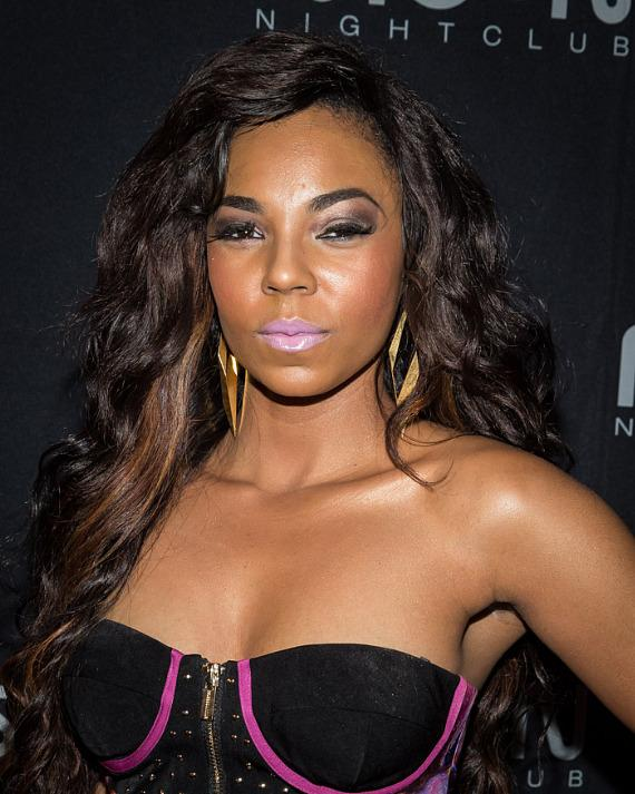 Grammy Award Winner Ashanti hosts at Moon Nightclub in Las Vegas