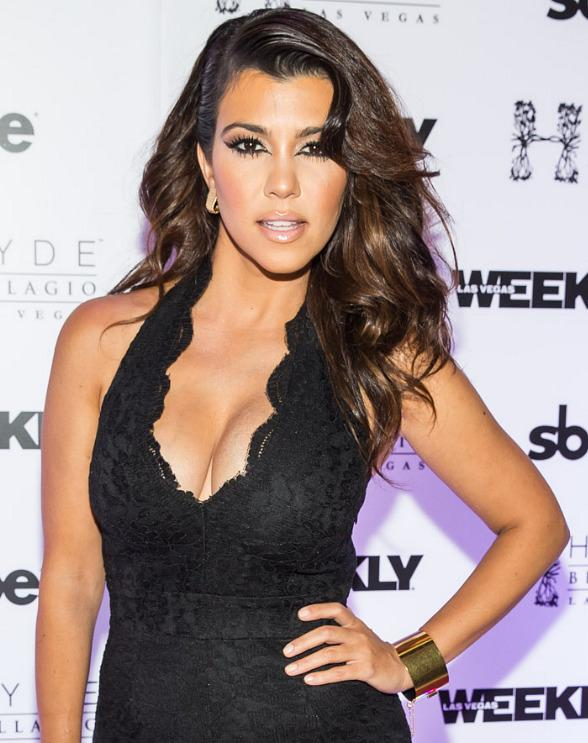 Kourtney Kardashian Parties at Hyde Bellagio in Las Vegas