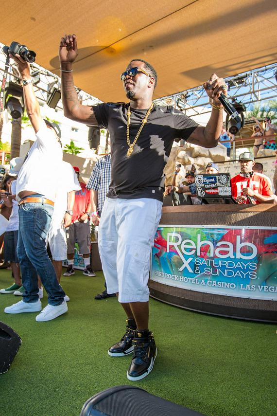 Puff Daddy's Pineapple Ciroc Launch Labor Day Party at REHAB