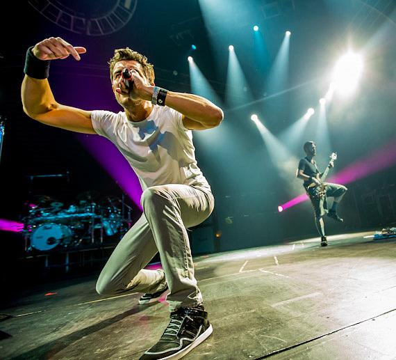 311 performs at The Joint at Hard Rock Hotel & Casino in Las Vegas