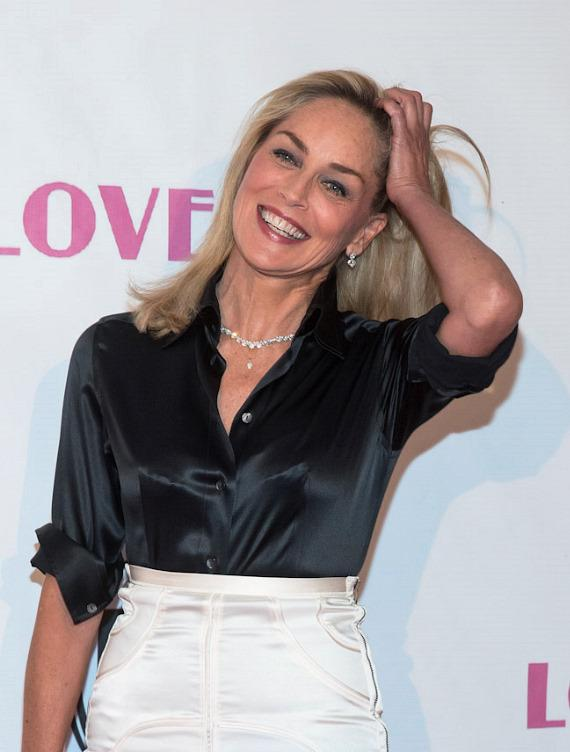 """Sharon Stone at """"Lovelace"""" Premiere in Planet Hollywood Las Vegas"""