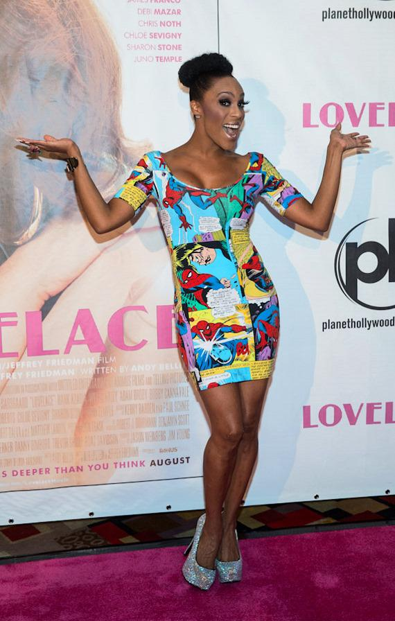 """Peepshow star Cheaza at """"Lovelace"""" Premiere in Planet Hollywood Las Vegas"""