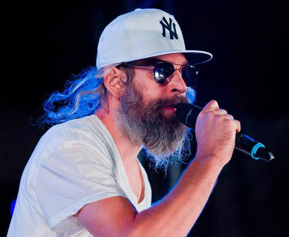 Reggae and Hip Hop artist Matisyahu performed to a completely packed pool as part of the Soundwaves concert series at Hard Rock Hotel & Casino. The Orthodox Jewish born rapper recently shaved off his trademark beard and locks but says that does not reflect a change in his religious beliefs.