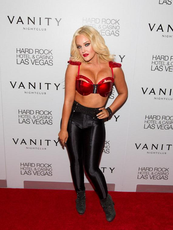 Lacey Schwimmer Performs at Vanity Nightclub in Hard Rock Hotel Las Vegas