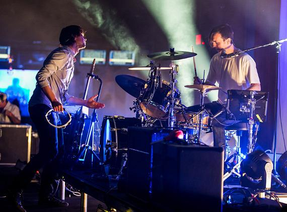 Cut Copy performs at Brooklyn Bowl Las Vegas at The LINQ