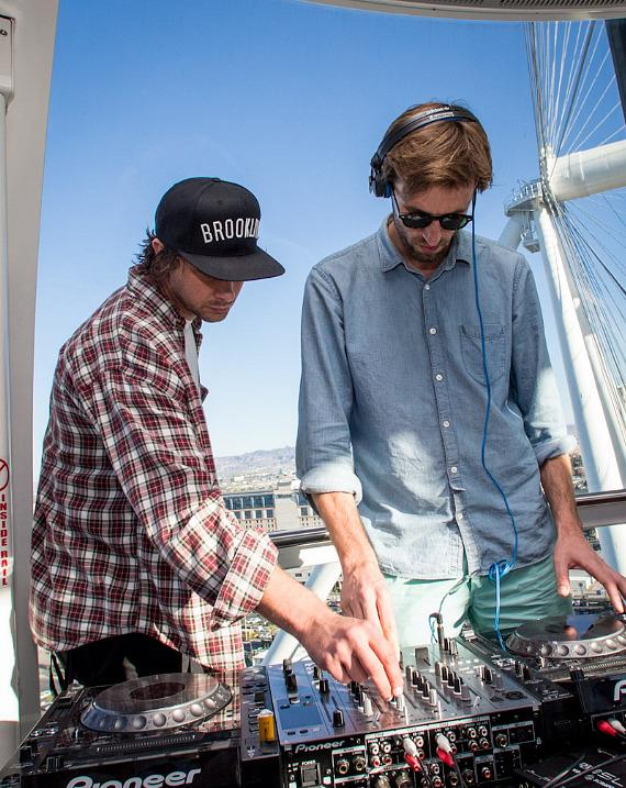 Cut Copy performs 550ft high set on The High Roller before Brooklyn Bowl Show