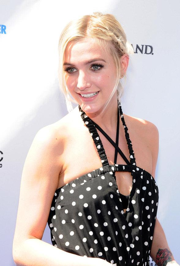 Ashlee Simpson Hosts at Wet Republic Pool