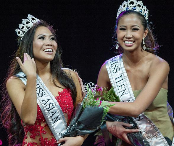 Miss Asian Las Vegas MISS Monica Fung and TEEN Rianne Lu
