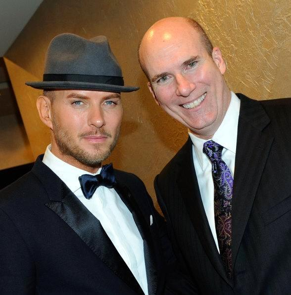 Matt Goss and Tiffany & Co. Group Director Peter Sinibaldi
