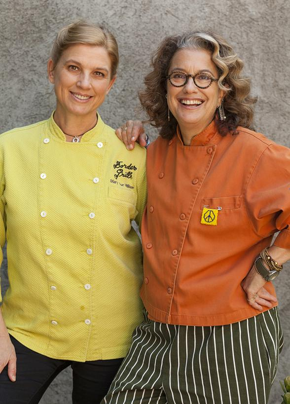 "Border Grill's ""Too Hot Tamales"" - Chefs Mary Sue Milliken & Susan Feniger Mark 10th Anniversary of Vegas Uncork'd with Intimate Dinners, Demos and More"