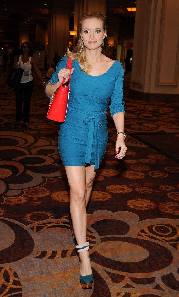 Holly Madison arrives at Mandalay Bay