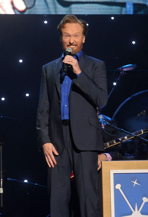 Conan O'Brien performs at The Pearl Concert Theater