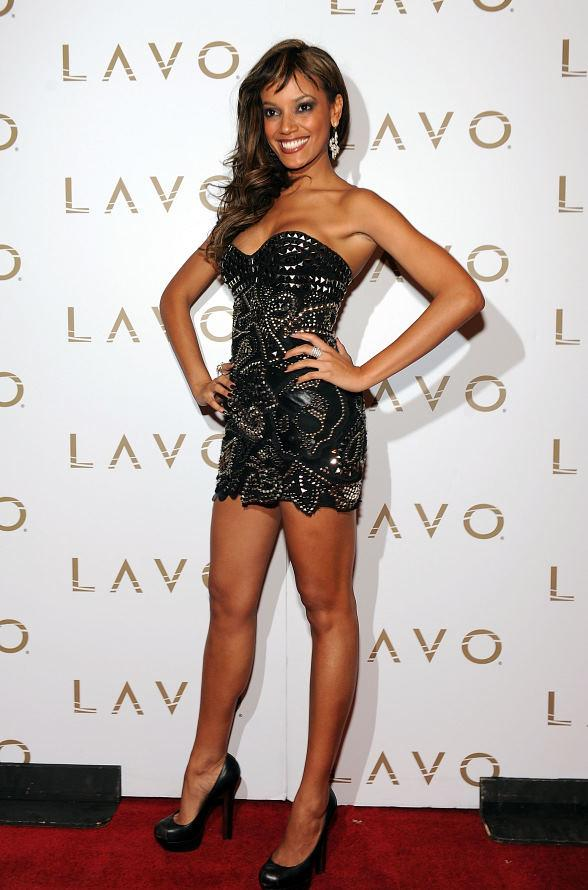 Victoria Secrets Angel Selita Ebanks at LAVO