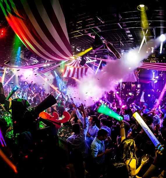 """Clinton Sparks' """"The Greatest Party on Earth"""" at 1 OAK at The Mirage in Las Vegas"""