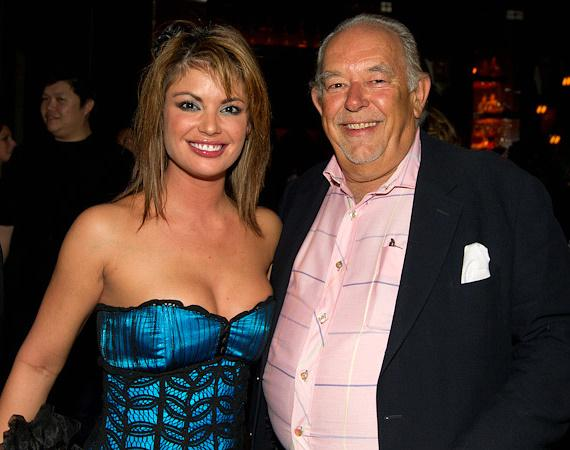 Laura Croft and Robin Leach