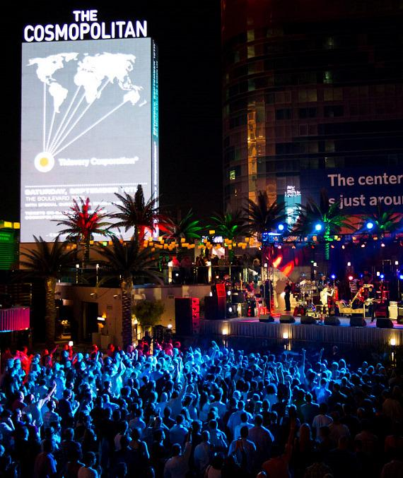 Thievery Corporation performs at The Boulevard Pool at The Cosmopolitan of Las Vegas