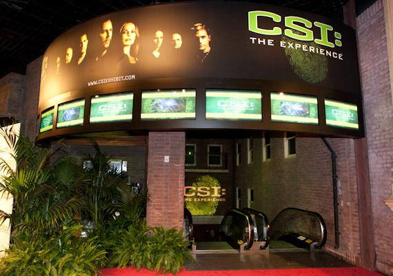 CSI: The Experience Grand Opening