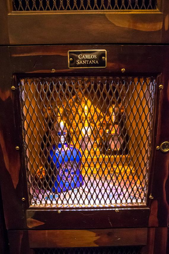 Casa Noble Tequila Locker in The Foundation Room at House of Blues