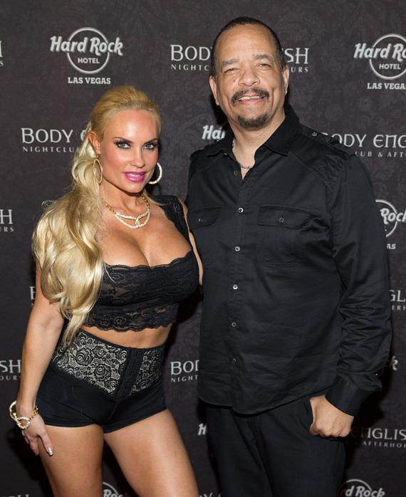 Coco and Ice T at Body English in Las Vegas