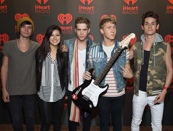 The Summer Set at iHeartRadio Music Festival