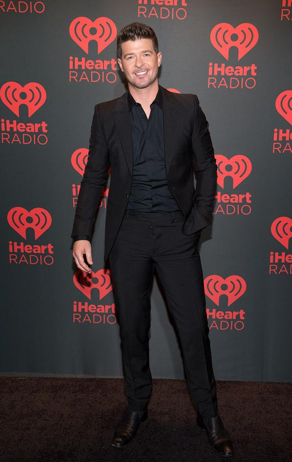 Robin Thicke at iHeartRadio Music Festival