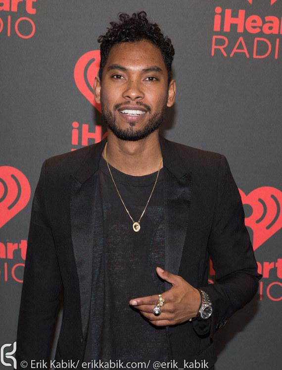 Miguel on Day 2 of iHeartRadio Festival in Las Vegas