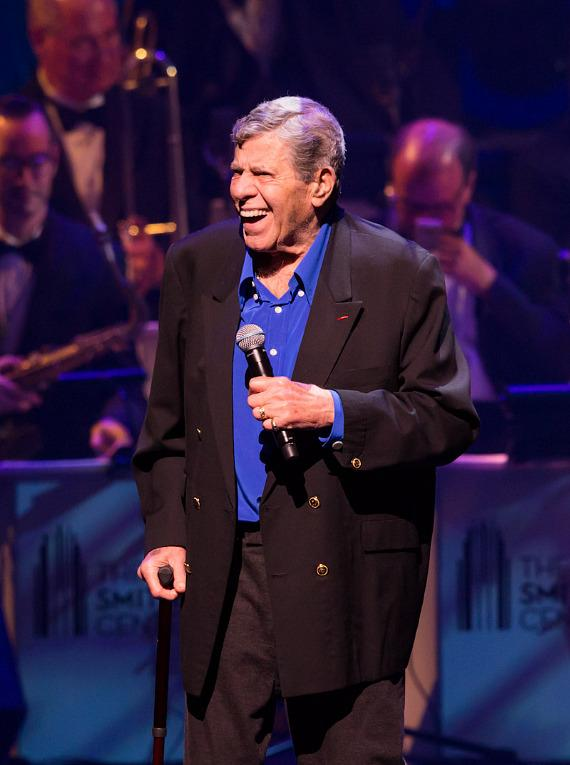 Jerry Lewis at the Nevada Sesquicentennial All-Star Concert