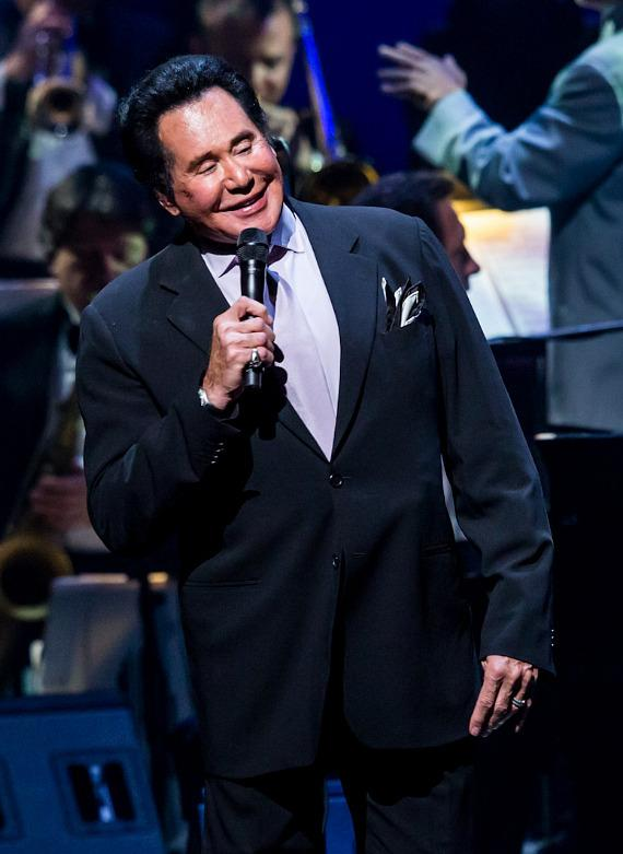 Wayne Newton at the Nevada Sesquicentennial All-Star Concert
