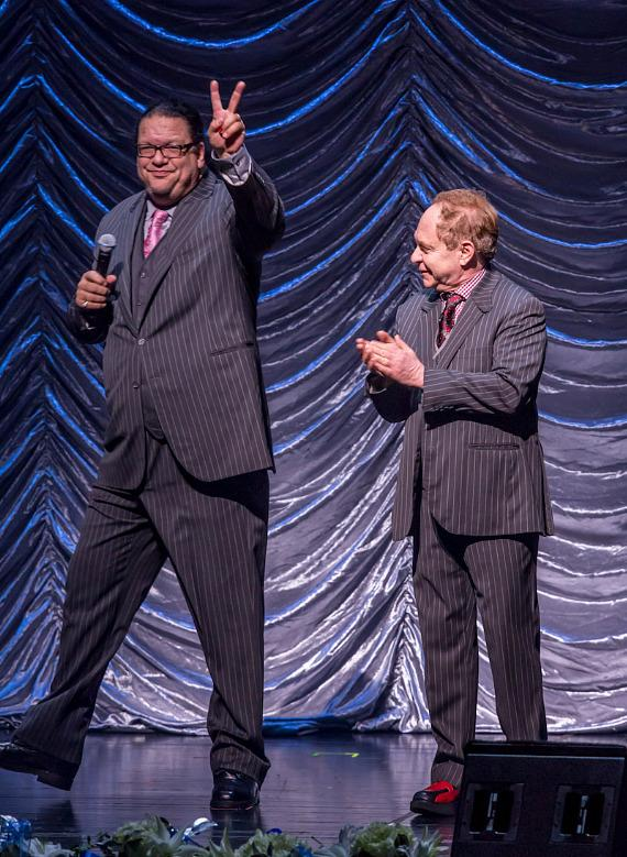 Penn & Teller at The Nevada Sesquicentennial All-Star Concert