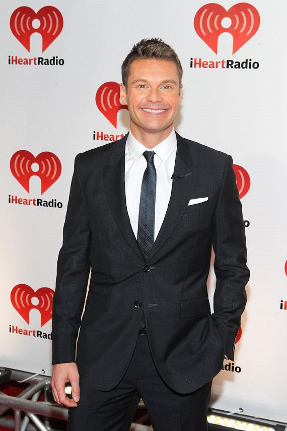 Ryan Seacrest at iHeart Radio Music Festival
