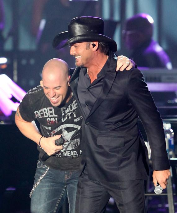 Chris Daughtry and Tim McGraw