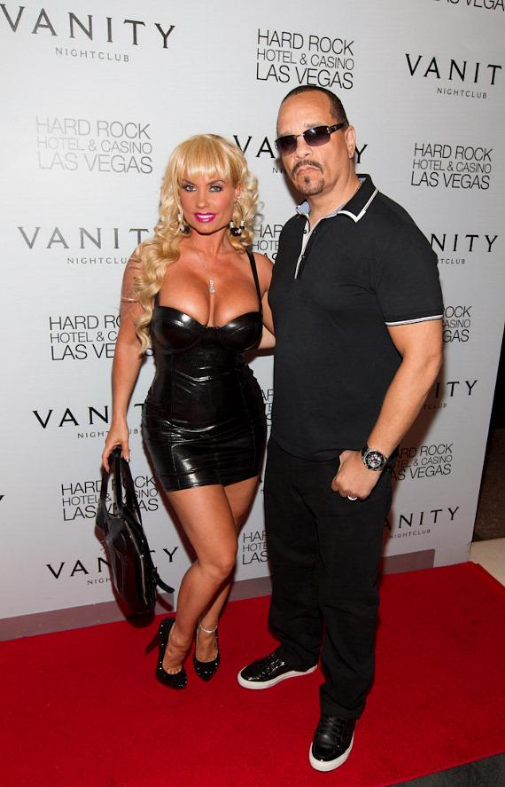Ice-T and Coco at Vanity Nightclub