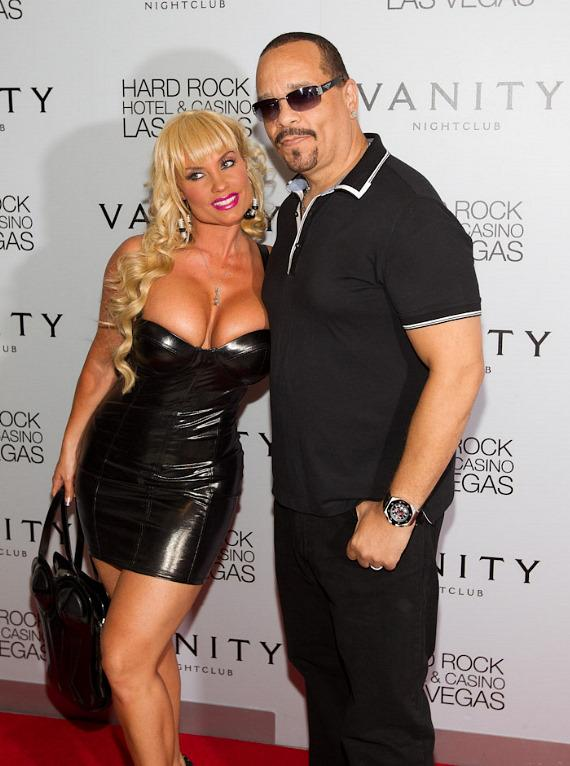Coco and Ice-T at Vanity Nightclub