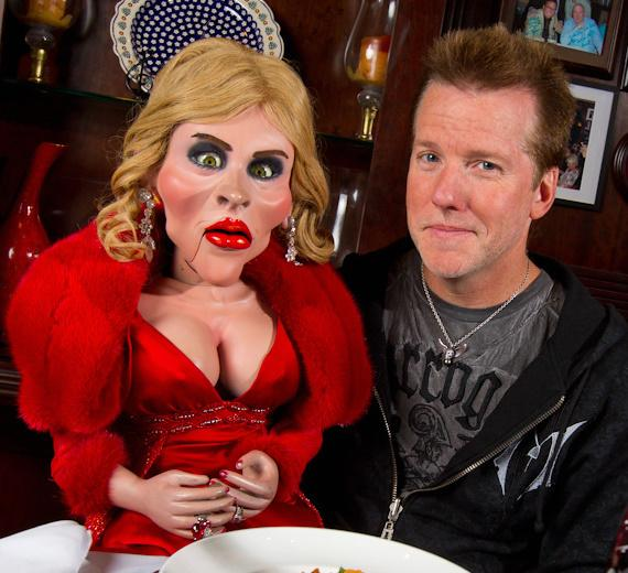 Jeff Dunham Dines At Rao S With Diane