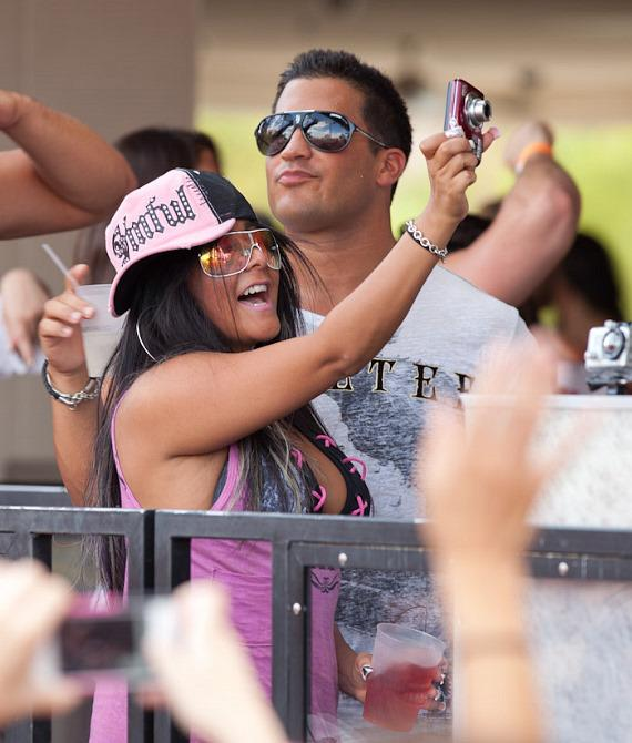 "Nicole ""Snooki"" Polizzi at WET REPUBLIC"