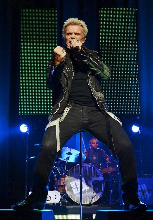 Billy Idol Rocks The Pearl at Palms Casino Resort in Las Vegas