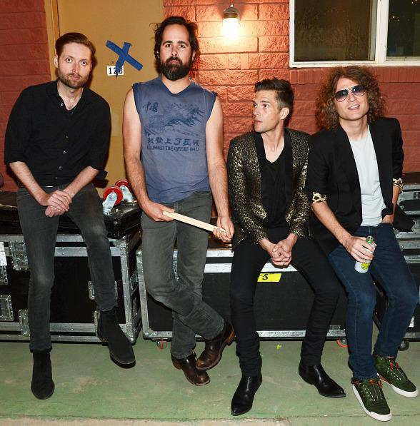 The Killers Perform a Surprise Show at The Bunkhouse after T-Mobil Opening