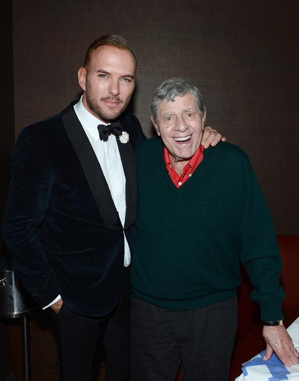 Jerry Lewis at Old Homestead Steakhouse and Matt Goss' Show at Caesars Palace