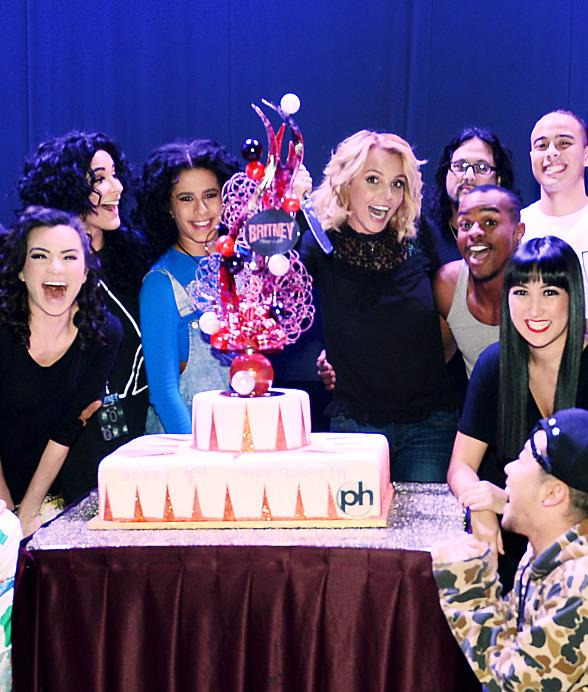 "Britney Spears Celebrates One-Year Anniversary of ""Britney: Piece of Me"" at Planet Hollywood Resort & Casino"
