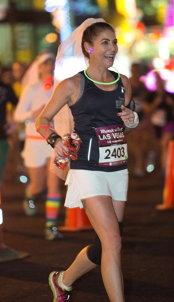 Seventy-Five Couples Say 'I Do' at Rock 'n' Roll Marathon at Monte Carlo Resort and Casino in Las Vegas