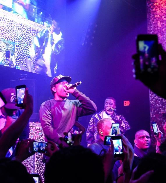 A$AP Rocky performs at TAO