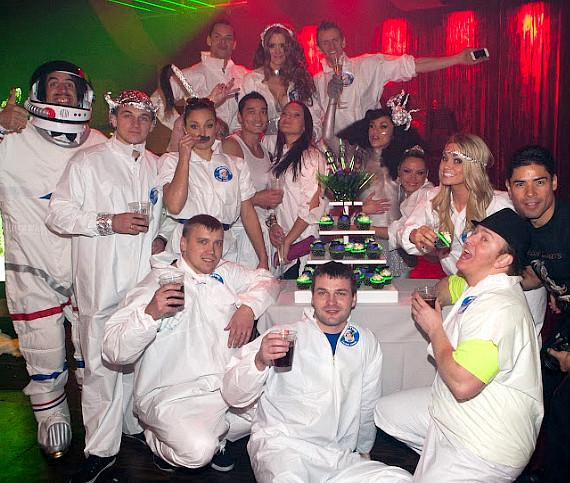 Cast of ABSINTHE celebrates Anniversary and 500 Shows