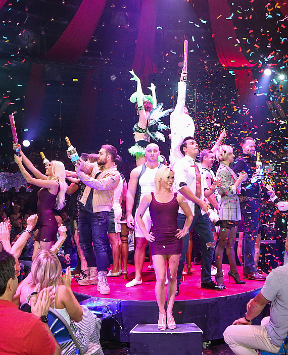 ABSINTHE Celebrates 4,000 Performances at Caesars Palace with a Surprise 'Stars of the Strip' Show Finale
