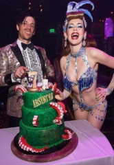 "Absinthe Celebrates Seven Years in Las Vegas with ""The Gazillionaire's Gala of Gluttony"""
