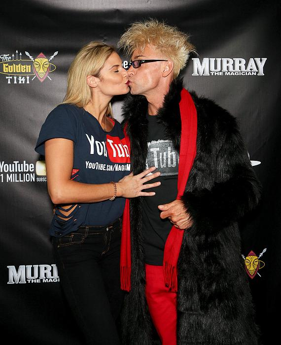 Murray SawChuck with girlfriend Dani Elizabeth