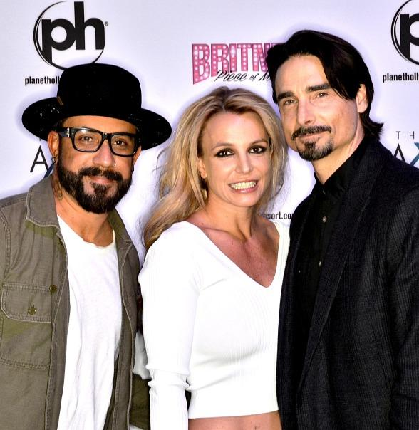 Backstreet Boys AJ McLean and Kevin Richardson at