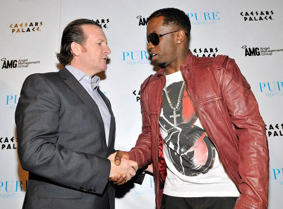 "AMG CEO Neil Moffitt with Sean ""Diddy"" Combs at PURE"