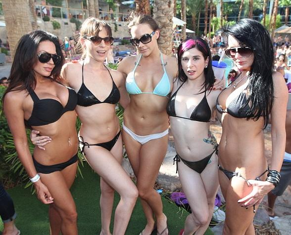 Avn Starlets Spotted Poolside At Nectar Music Festival